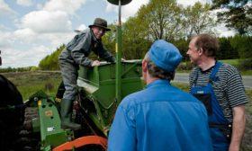 Såmaskine og landmænd