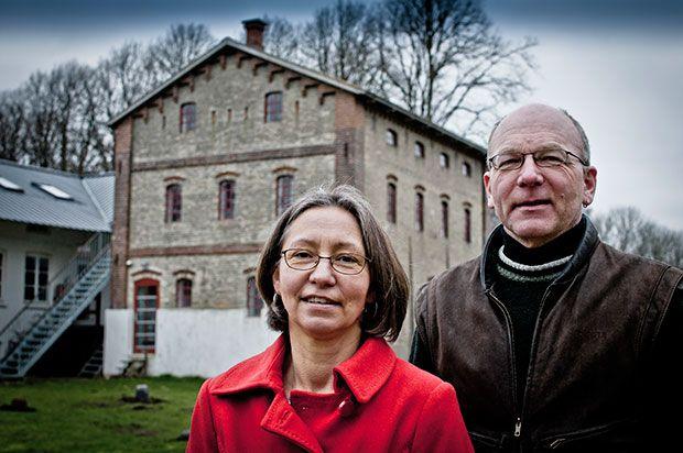 For Bjarne Boesen og Elsebeth Junker indgår økologi og selvforsyning som en naturlig og fuldt integreret del af hele konceptet bag Hellevad Vandmølle.Foto: Morten Telling