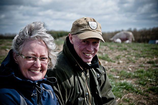 For Hans Erik og Kirsten er målet ikke at producere mere og blive større. Foto: Morten Telling