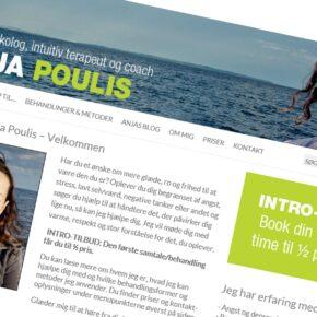 Nyt webside til Anja