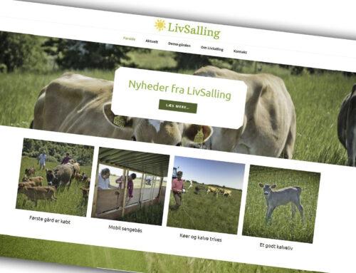 Ny hjemmeside: LivSalling